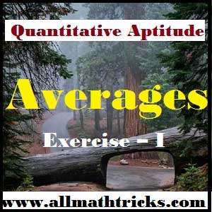 List of Formulas for Average Tricks with Examples |Average aptitude shortcuts | averages formula pdf | average formula for bank exam |average formula for ssc | simple average formula