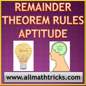 Remainder theorem of numbers | Remainder theorem aptitude questions | How to find remainder of a number with power | Remainder theorem tricks for ssc