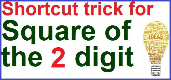 Easy method to find Square of number -all math tricks