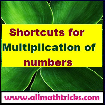 Multiplication tricks for 2digit, 3digit and 4digit numbers - all math tricks