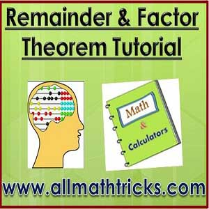 Statement and proof of remainder theorem and factor theorem | application of remainder theorem and factor theorem | remainder and factor theorem tutorial
