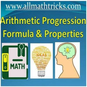 arithmetic progression number of terms formula Arithmetic progression formula class 10 | arithmetic progression sum of first n terms | nth term of  AP | AP formulas